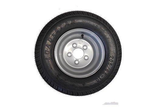 20.5 X 8 - 10 (205/65-10) Snowmobile trailer tire & wheel- TRITON, R&R, NORTHBOUND