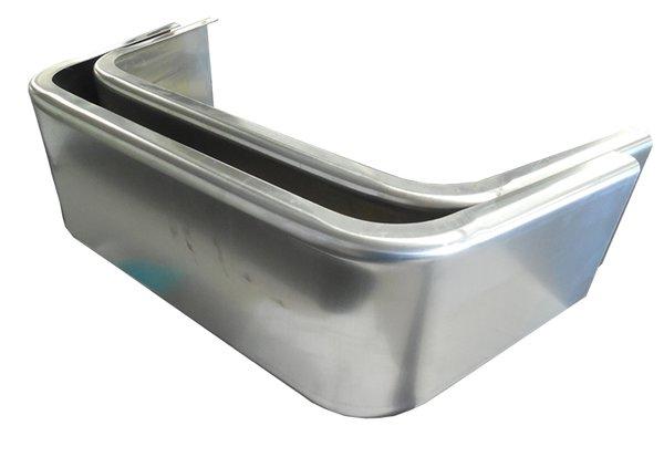 Aluminum 8 X 13 X 30 (PAIR) Single Axle Fenders