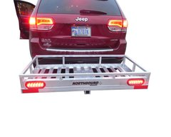 Northbound Aluminum Cargo Carrier / hauler, 24 X 49 heavy duty w/ LED tail-lights & plug
