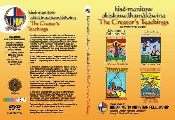 Creator's Teachings DVD