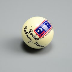 Autographed Cue Ball