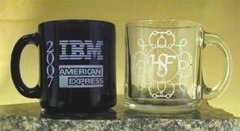 13oz Glass Coffee Mug