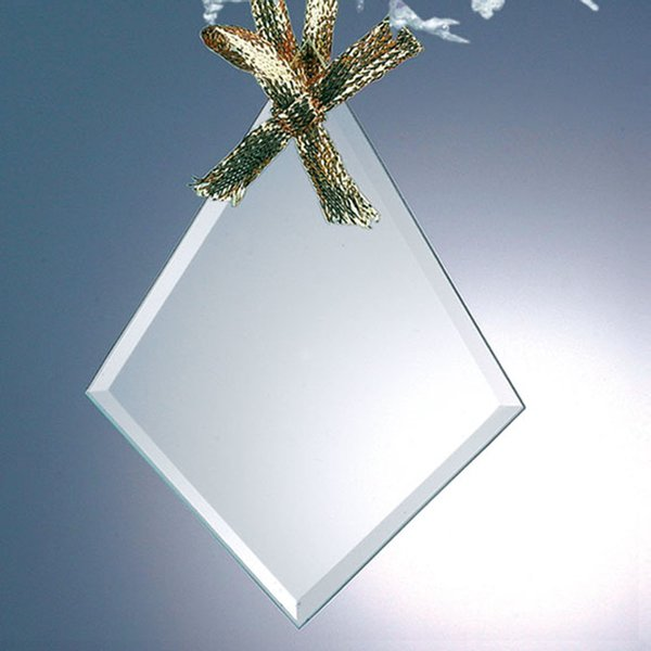 Diamond Jade Glass Ornaments
