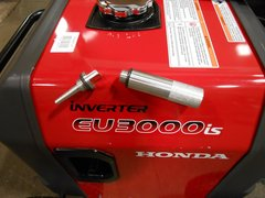 HONDA EU3000IS INVERTER GENERATOR OIL FILL TUBE & MAGNETIC DIPSTICK COMBO *USA*