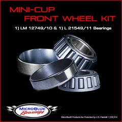 Micro Blue Front Wheel Kit MMI Hub