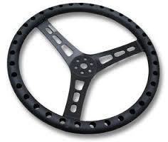 Joes Racing 13in Steering Wheel Flat Dish