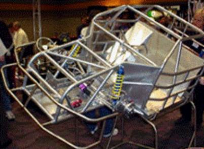 NEW LIGTHER N/C Predator Mini Cup Race Car