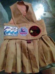 PupScout Uniform Girl