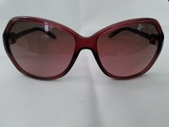 New RALPH LAUREN Sunglasses RA5136 944/14, Burgundy Frames, brown gradient lens