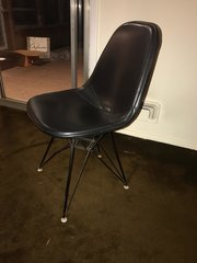 Set of 3 Mid Century Modern Herman Milker Eames Leather Bucket Chairs - Taking Offers