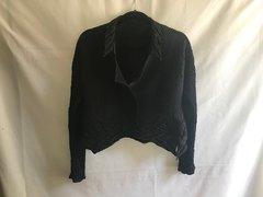 SOLD!! Ruffle Long Sleeve Light Weight Short Jacket