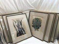 Various German 18th c Engravers - Seven Prints From Johan Wilhelm Weinmann