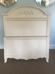 Hollywood Regency Style Twin Bed Frame