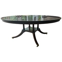 SOLD! Monumental! Absolutely Fabulous Maison Jansen Style Round Mahogany Dining Table