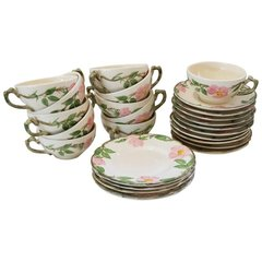 Lunch'n w the Ladies Desert Rose Design Serving Ware Dish Set by Franciscan
