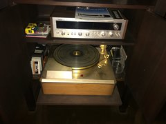 SOLD!! Vintage EMPIRE 208 Record Player