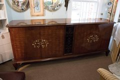 Monumental Attribution to Jules Leleu Art Deco Sideboard/Buffet