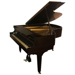 SOLD - W.P. Haines and Company Mahogany Grand Piano, 1920s