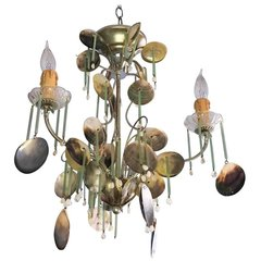 Eye-Catching Dazzler Coastal Chandelier Sea Shell's Around the World Sea Shell's