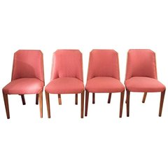 Set of 4 1930's Biedermeier Style Deco Chairs