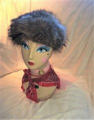 SOLD - Faux Fur Hat