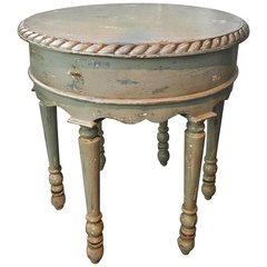 "SOLD! Shabby Chic Farmhouse Side Table ""Sea Star"""