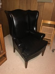 SOLD - Leather Chair