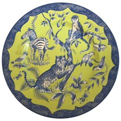 Beautifully Colored Lynn Chase Designs Plate African Inspirations, England