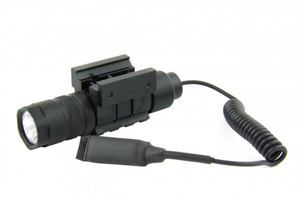 150 Lumen Rifle Shotgun Flashlight With Pressure Switch