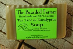 Tea Tree & Eucalyptus Soap
