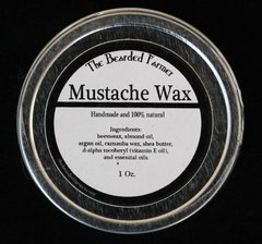 Pitchfork Mustache Wax
