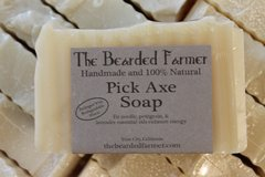 "Fir Needle, Petitgrain, & Lavender ""Pick Axe"" Soap"