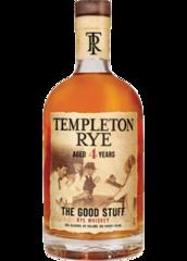 Templeton 4 Year Rye Whiskey