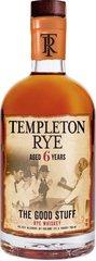 Templeton 6 Year Rye Whiskey