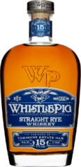 Whistle Pig Straight Rye Whiskey 15 Years Old