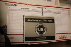 FFL Gunsmith 300 Entry Record Book