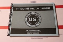 FFL Firearms Dealer Bound Record Books 300 Entry