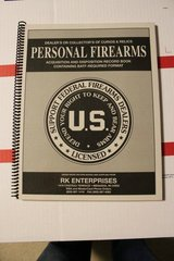 Personal Firearms Record Book 125 entry