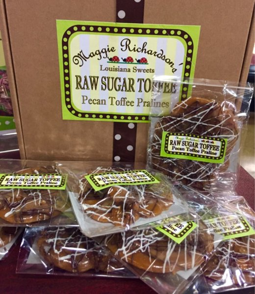how to make toffee with raw sugar