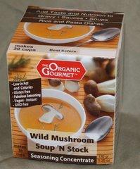 Wild Mushroom Soup 'N Stock
