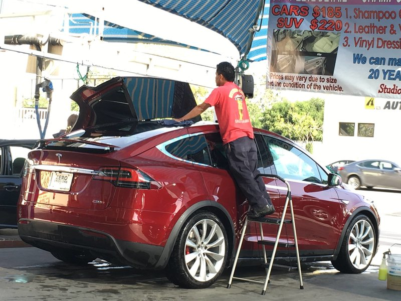 Pro detailers advice best car wash for tesla teslachick water also i simply dont have the time to spend making an appointment there during daylight hours i am writing this at 342 am if you get my drift solutioingenieria Images