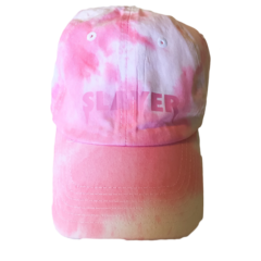 Slayer Dad Hat - Pink