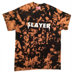 Slayer T-Shirt - Bleached Black