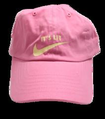 It's Lit Dad Hat - Pink