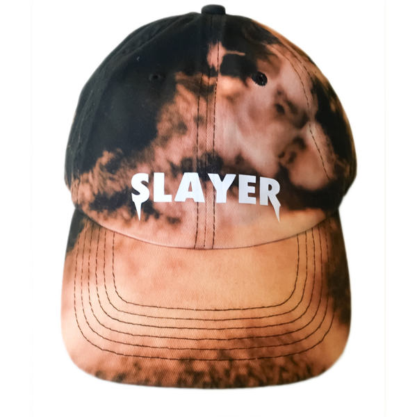 Slayer Dad Hat - Bleached Black