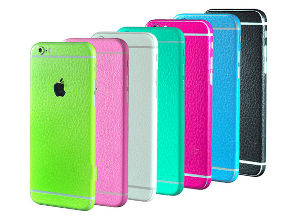 Glamour Phone Sticker Leather Textured