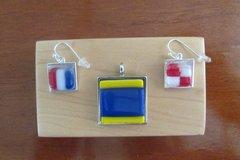 Necklace & Earring Bezel Set