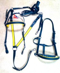 IN STOCK SALE - Biothane Deluxe Halter Bridle, Breastplate, Reins Set