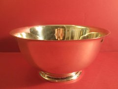 10-inch Gorham & Co. Revere bowl.