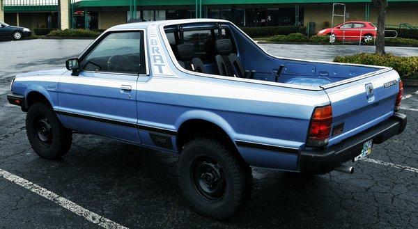 Subaru Brat Full Stripe Set 82 93 Retro Auto Decals
